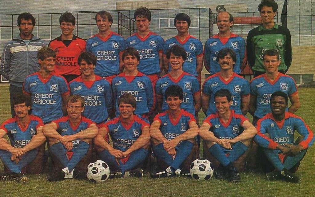 Caen 1985-86