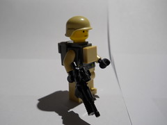 Lego Modern Soldier Sig-Fig (bob the third) Tags: soldier lego m4 m4a1 sigfig brickarms modernwarfare