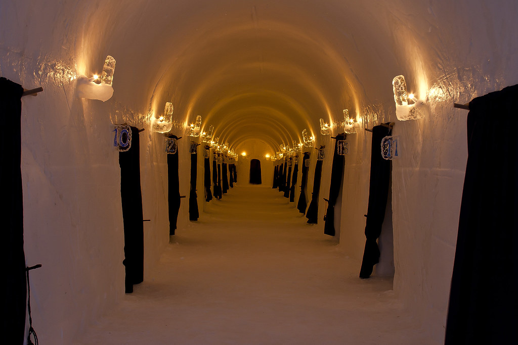 Alta Sorrisniva Igloo Hotel - Rooms