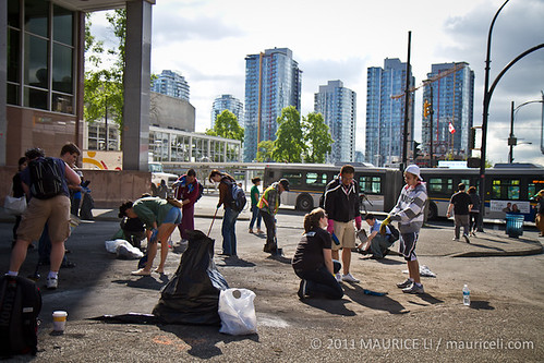 Vancouver Cleanup: Post-Riots