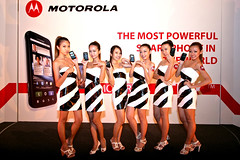 Models with Motorola Atrix