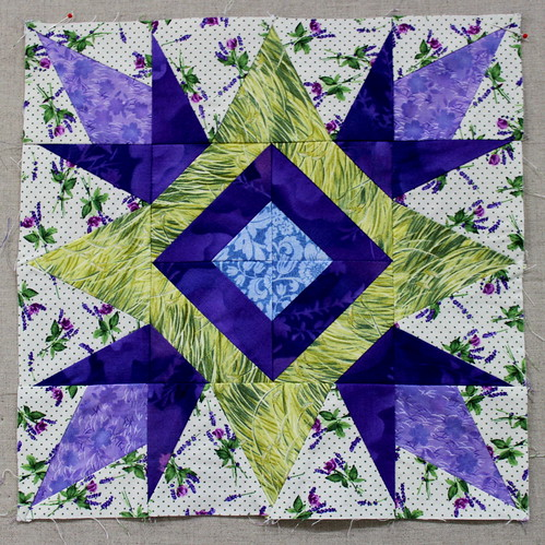 Tulip Star Block c 1108