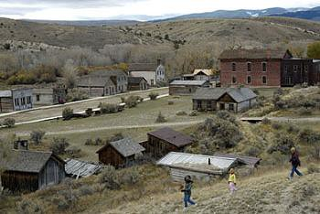 Overlooking Bannack