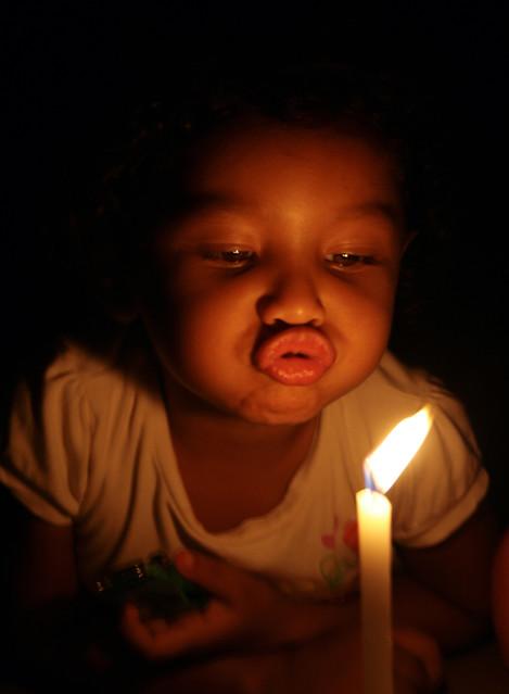 Brincando com a vela I
