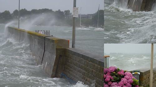 Port-Navalo, la tempête