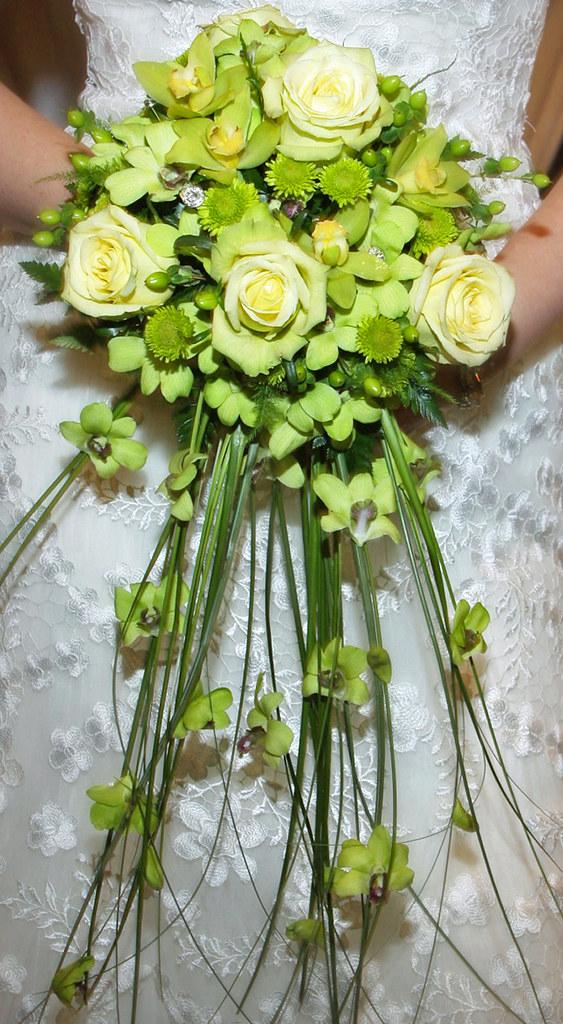 Sparks Florist Tropical Green Bridal Bouquet