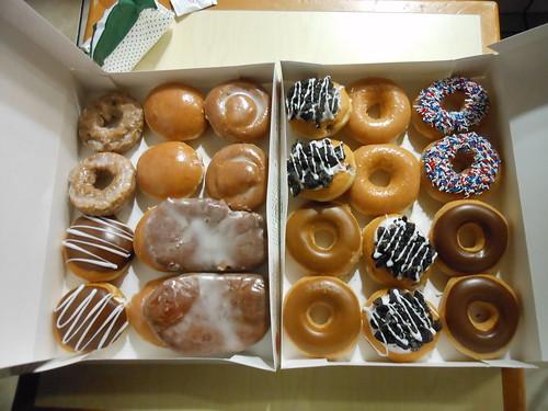 The Krispy Kreme Challenge