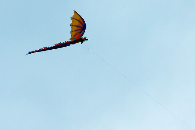 Day 298 - Dragon Kite