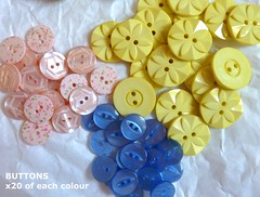 09 - Purchases, Buttons from BRIGHTON SEWING CENTRE