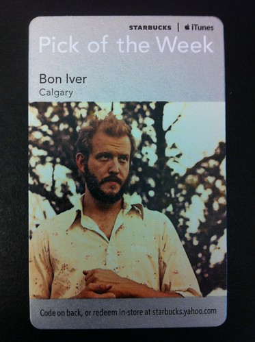 Starbucks iTunes Pick of the Week - Bon Iver - Calgary