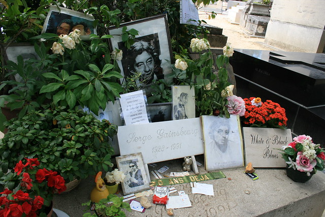 Tombe de Serge Gainsbourg