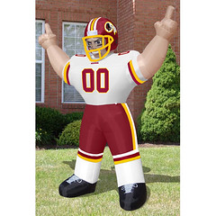 Washington Redskins Tailgate Inflatable Sports Player