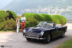 Aston Martin DB5 Convertible (Raphal Belly) Tags: italy lake como classic cars car photography eos photo automobile flickr italia photographie martin picture convertible automotive erba belly exotic 7d villa di passion auctions este raphael rb italie aston spotting cernobbio supercars deste rm raphal db5 concorso 2011 lagio deleganza