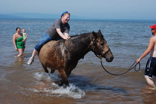 4 Me, elegantly get on a horse? Hah!