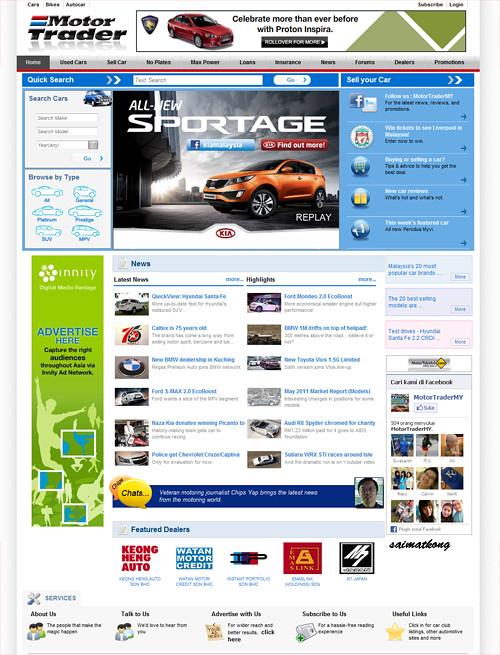 New Motor Trader Website
