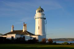 Toward Point Lighthouse (near Dunoon) (iancowe) Tags: sunset lighthouse point evening clyde stevenson peninsula dunoon toward clydeport cowal lighthousetrek wbnawgbsct