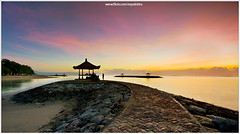 Silent is My Choice (myudistira) Tags: bali beach sunrise work indonesia photographer culture pantai pagi freelance denpasar sanur pemandangan adat budaya balinese matahari fotografer unik yudis subuh terbit myudistira madeyudistira yudist