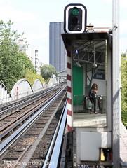 Metrospiegel (Maurits van den Toorn) Tags: paris metro spiegel métro lookingglass miroir parijs ratp tourmontparnasse