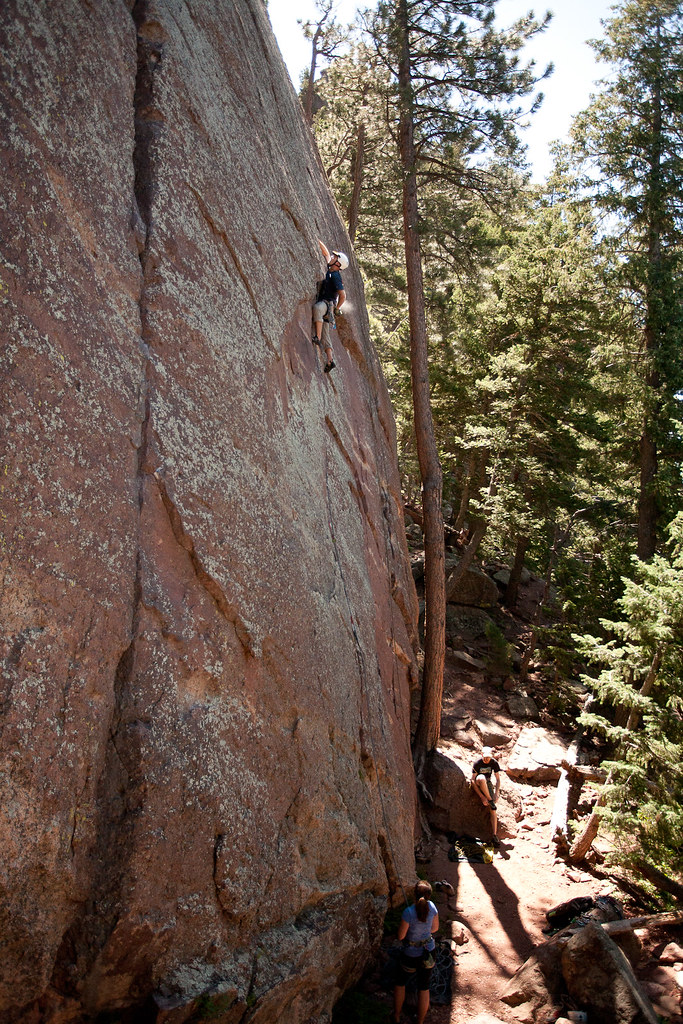Chalk before the crux
