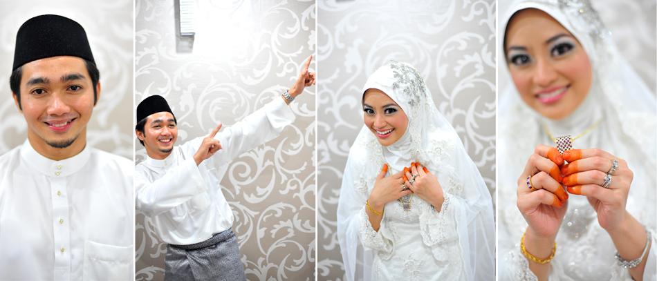 Nadia & Fahmi Nikah kolaj 09 s