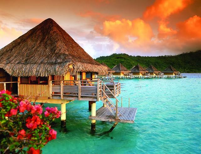 French Polynesia - Polinesia Francesa - Bora Bora Bangalos