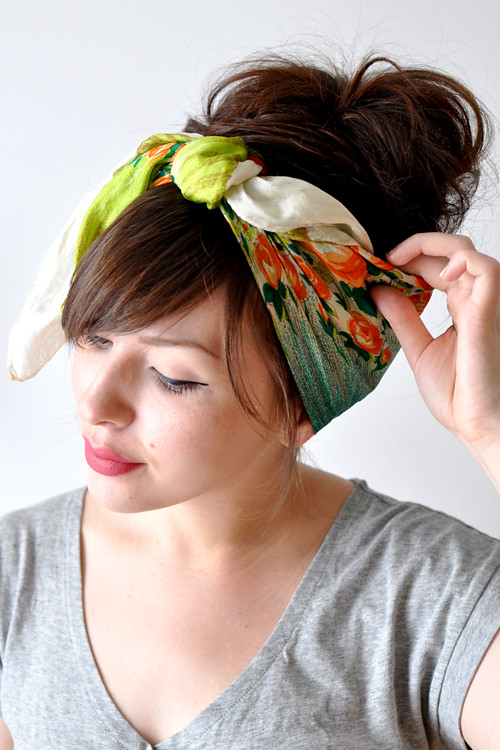 headscarf tying