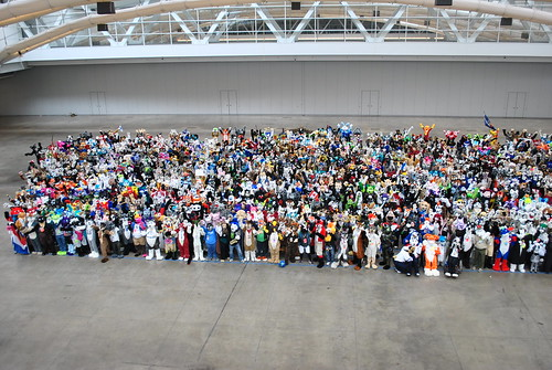 Fursuit group shot