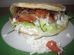 #295 Döner (Like_the_Grand_Canyon) Tags: food essen lettuce kebab salat tomaten turkish sose kalbfleisch schafskäse scharfe türkisches