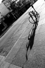the long now (bhautik joshi) Tags: sf sanfrancisco california morning shadow bike bicycle delete5 delete2 delete6 delete7 save3 delete3 save7 save8 delete delete4 save save2 save4 save5 missiondistrict save6 themission sfist 16thst longshadow bikeparking 2011 bhautikjoshi deletedbythehotboxgroup