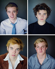 The blue-eyed collection of studs ;) (David Talley) Tags: blue portrait brown celebrity stars blueeyes famous portraiture blonde attractive celebrities