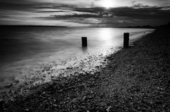solent 1 (Mark J Hall) Tags: longexposure sea seascape pebbles hampshire slowshutter 2012 gosport markhall stokesbay 18200mm thesolent vrii threeleggedthing leesoftgradndfilter hitechpro10stopndfilter