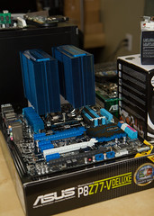 ASUS P8Z77 & Phanteks PH-TC14PE (abysal_guardian) Tags: canon eos rebel fan is deluxe intel fans cooler usm cpu motherboard asus efs f28 socket pwm 1155 1755mm ivybridge 140mm 550d z77 t2i p8z77v phanteks phtc14pe socket1155 pcie30