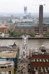 Bankside (2) (B.C. Angell) Tags: uk england london thames unitedkingdom bridges millenniumbridge tatemodern stpaulscathedral museums bankside cityoflondon stonegallery banksidepowerstation
