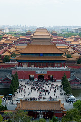 Forbidden City from above (londondesigner.com) Tags: china city beijing forbidden forbiddencity imperialpalace gugong ming gu gong 2012 qingdynasties