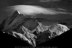 White Cap.. (M Atif Saeed) Tags: pakistan mountain mountains nature landscape karakoram atifsaeed