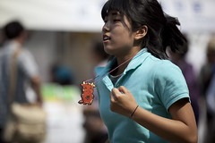 Jumping girl 2 (CyprienR) Tags: festival korea seoul 2012 coreenne