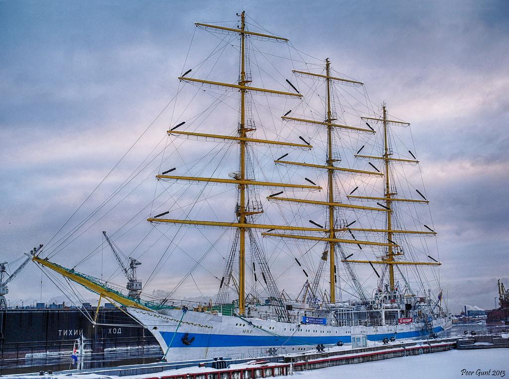 фото: STS MIR. Saint-Petersburg. Парусник