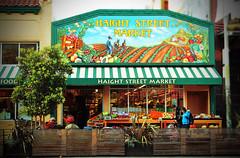 Haight Street Market (dorameulman) Tags: sanfrancisco california color beautiful fun market streetscene haightashbury streetscape streetshot fencedfriday dorameulman