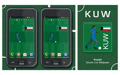 Kuwait Soccer Graphic (SidewinderII) Tags: wallpaper sport football team fifa flag soccer country player smartphone jersey kuwait worldcup squad theblue olympicgames   kuw asiacup       alazreg