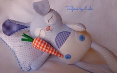 Coelhinho dormindo (Fofuras By Leila) Tags: coelhinha coelhinhodetecido coelhofofinho naninhadetecido