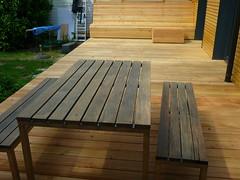 Sitzgruppe (Jrg Paul Kaspari) Tags: wood garden bank holz garten sitzbank holzbank holzterrasse holzdeck terrassenbank