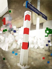 Freiburg (Peter Schler) Tags: station flickr redwhite bahnhof freiburg rotweis peterpe1