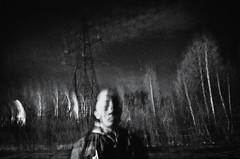 (fancy flight) Tags: bw blur face rock night contrast dark soul oblivion fancyflight