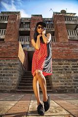 Street (Mutuma) Tags: street red sky woman black girl fashion photography model dress kenya kenyans kileleshwa