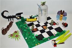 Week 38 (adventuresinlego) Tags: lego legomoc moc 366daysoflego 365daysoflego 365project collection whitebackground abugsweek abugslife eeeeek