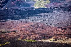 2016-08-25 - Haleakala National Park - Image-27 (www.bazpics.com) Tags: kula hawaii unitedstates us maui haleakala national park lava field flow color colour august 2016 landscape volcano eruption erupt texture