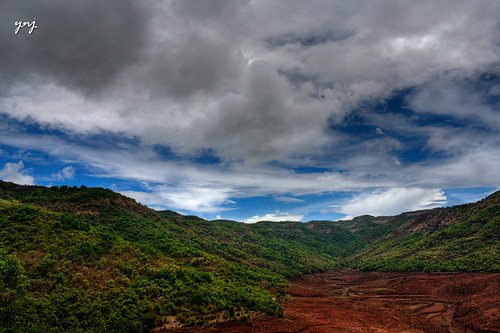blue sky and red soil.. and green in between! by Yogendra174