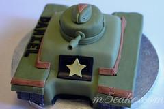 Military Tank Cake - 10
