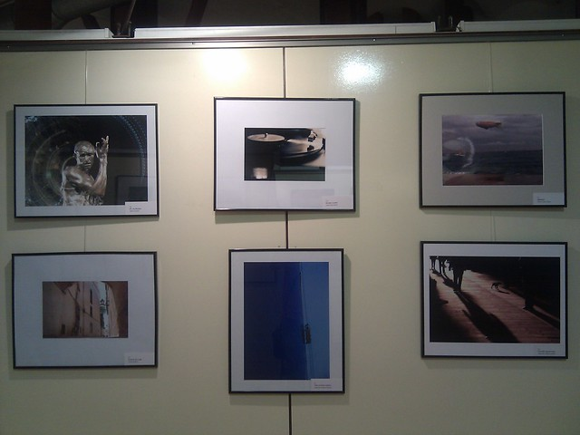 shown in a photography exposition