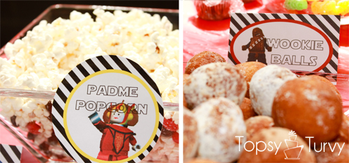 Lego-Star-Wars-birthday-party-food-padme-popcorn-wookie-balls
